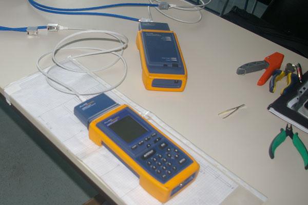Qualitätskontrolle mit Messinstrumenten - Netzwerkmessen
