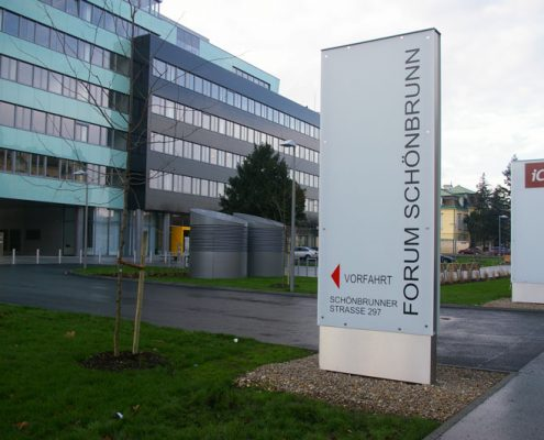 Netzwerkverkabelung Forum Schönbrunn
