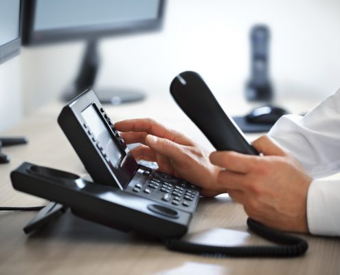 Telefonanlage Arzt Praxis